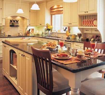 Armoires de cuisine et essences de bois for Armoire de cuisine bcbg